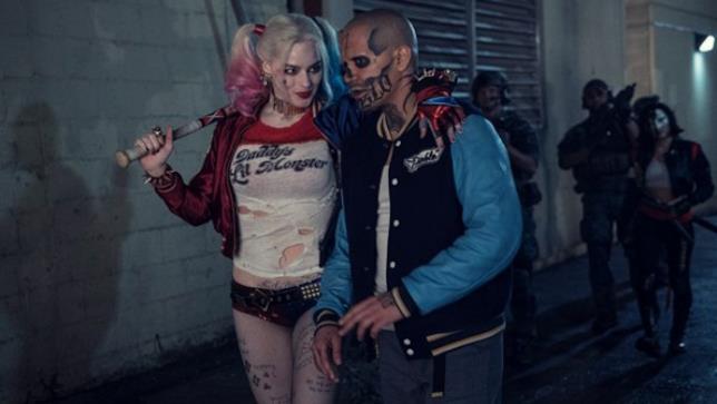Harley Quinn e El Diablo in una scena del film