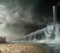 Una scena apocalittica di Geostorm