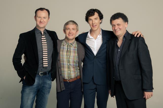 Il cast di Sherlock