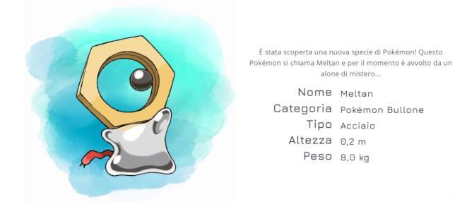 Tutte le caratteristiche di Meltan, il nuovo Pokémon Bullone