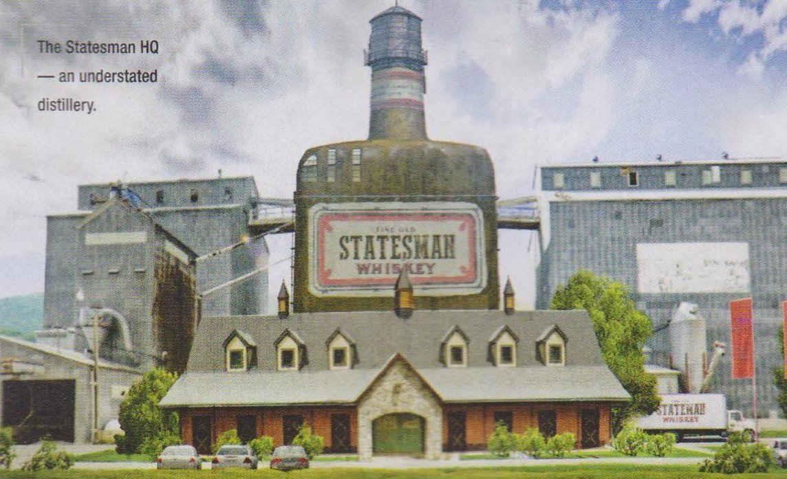 Il rifugio dei Kingsman è una distilleria