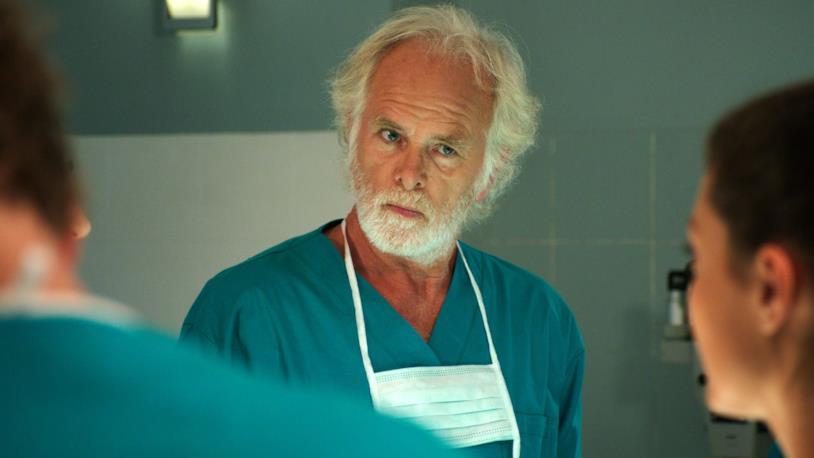Ray Lovelock in una delle recenti apparizioni in TV