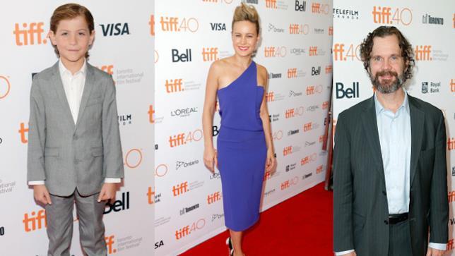 Gli attori Jacob Tremblay, Brie Larson e Sean Bridgers