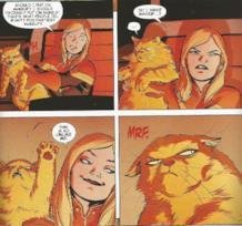 Carol e Chewie nei fumetti di Captain Marvel
