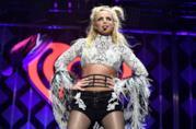 Britney Spears durante un suo concerto