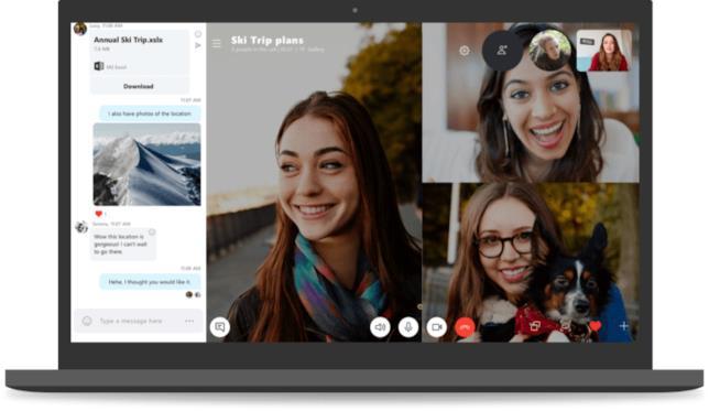 La nuova versione del client di messaggistica Skype