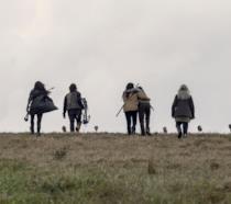 The Walking Dead: la scena delle picche dall'episodio 9x15