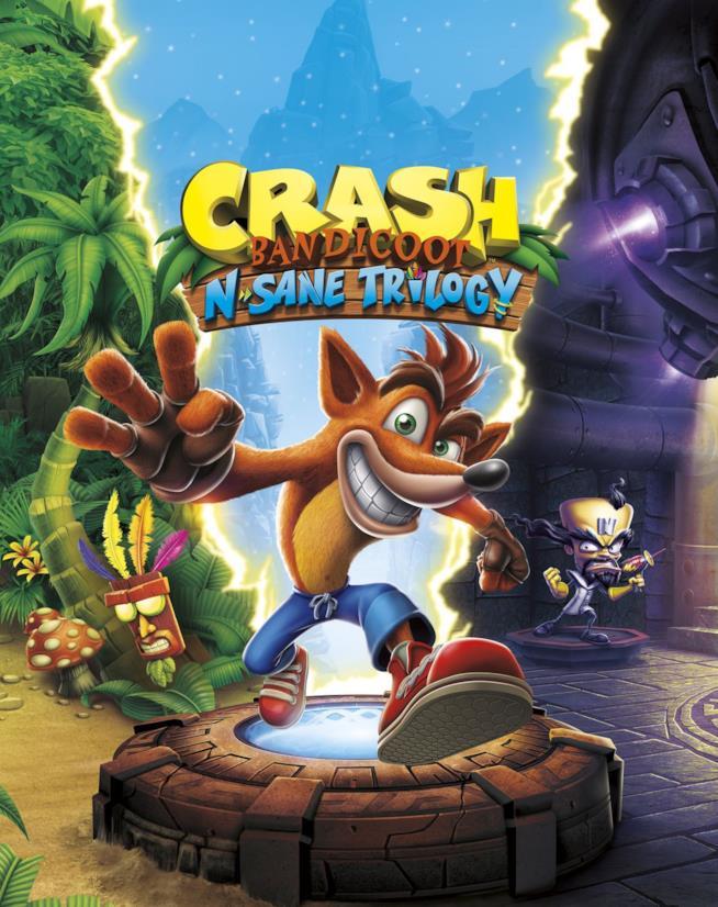Crash Bandicoot N.Sane Trilogy è disponibile nei negozi