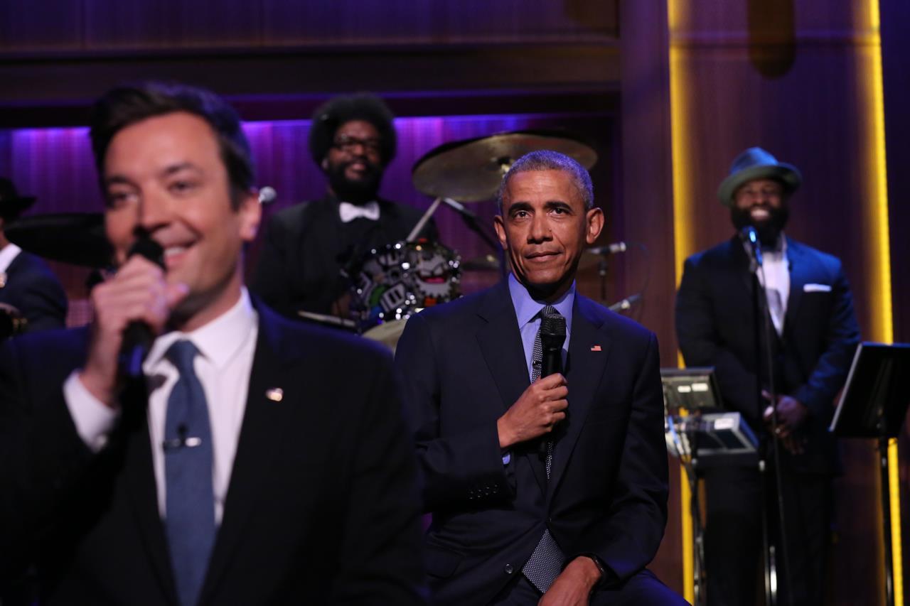 Il Presidente Obama ospite di Fallon