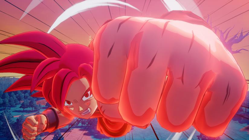 Dragon Ball Z Kakaroth Goku Super Saiyan God