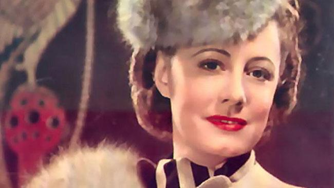 L'attrice candidata all'Oscar Irene Dunne