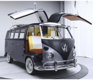 Il pulmino Volkswagen trasformato nella DeLorean di Ritorno al Futuro [GALLERY]