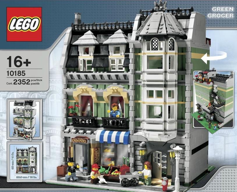Market Street, set di LEGO