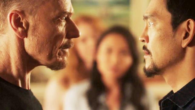 Scena dell'episodio 2x06 di The Exorcist