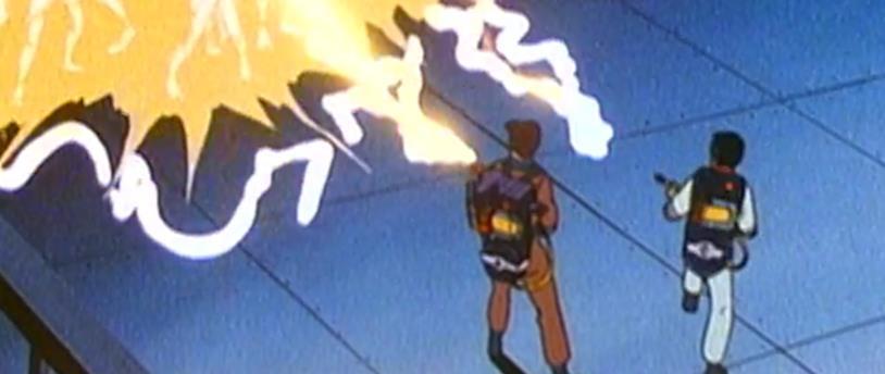 The Real Ghostbusters, Peter e Winston combattono fantasmi