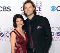 Jared Padalecki e la moglie Genevieve Cortese ai People's Choice Awards
