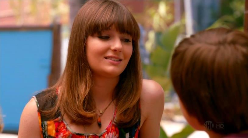 Christina Robinson in una scena della serie