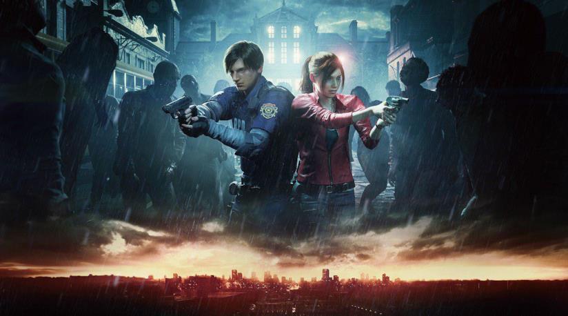 Resident Evil 2 remake cover