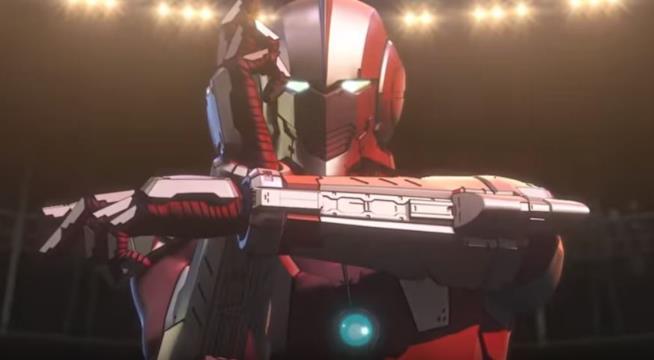 Ultraman nella nuova trasposizione animata