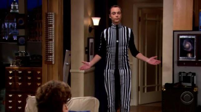 Sheldon è mascherato da Effetto Doppler