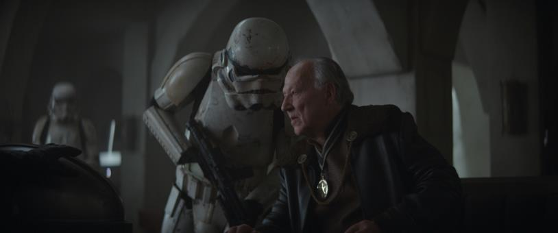 Werner Herzog nei panni del Cliente nella serie TV The Mandalorian