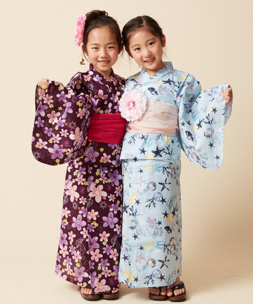 Kimono ispirati alle Principesse Disney, indossati