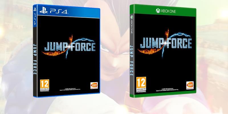 Le boxart provvisorie di Jump Force