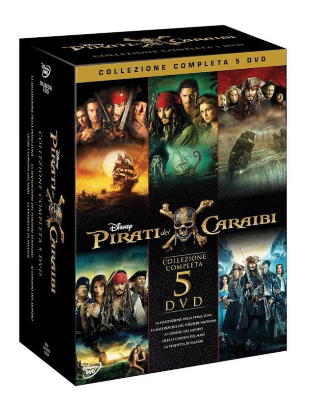 Pirati dei Caraibi Collezione - Home Video