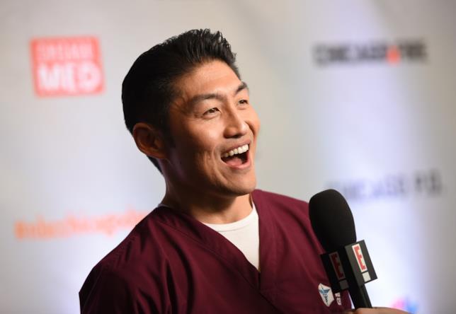 L'attore Brian Tee