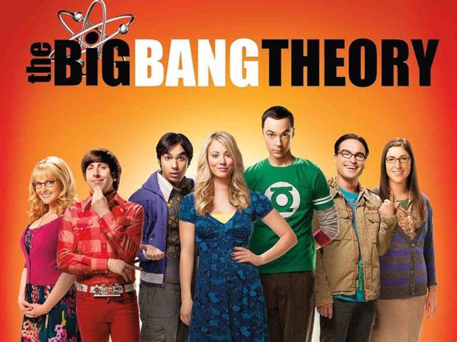 Il cast al completo di The Big Bang Theory