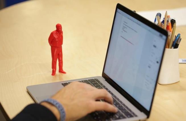 Umarel da scrivania 3D di The Fab Lab