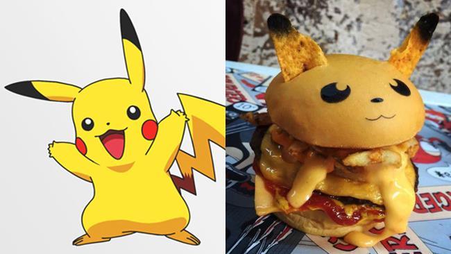 Pikachu il Pokéburger