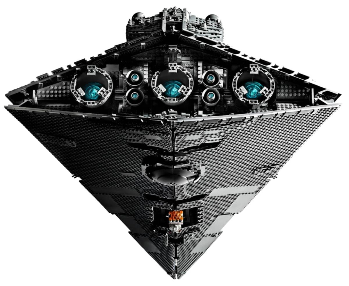 Lo Star Destroyer LEGO è molto fedele all'originale