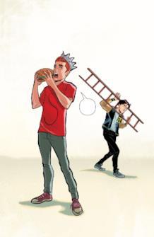 Archie e Jughead si scambiano di ruoli (e vestiti!)