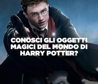 Quiz: conosci tutti gli oggetti magici del mondo di Harry Potter?