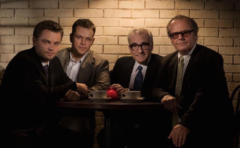 DiCaprio, Damon, Scorsese e Nicholson nella foto di gruppo