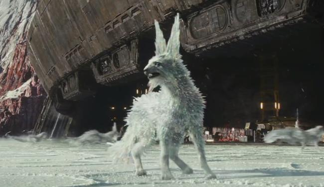 Vulptex di Star Wars 8 in ascolto