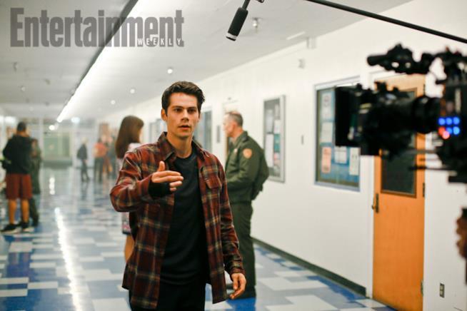 Dylan O'Brien in Teen Wolf 6