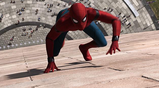 Un'immagine del nuovo Spider-Man
