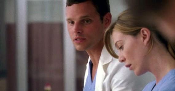 Alex e Meredith in Grey's Anatomy