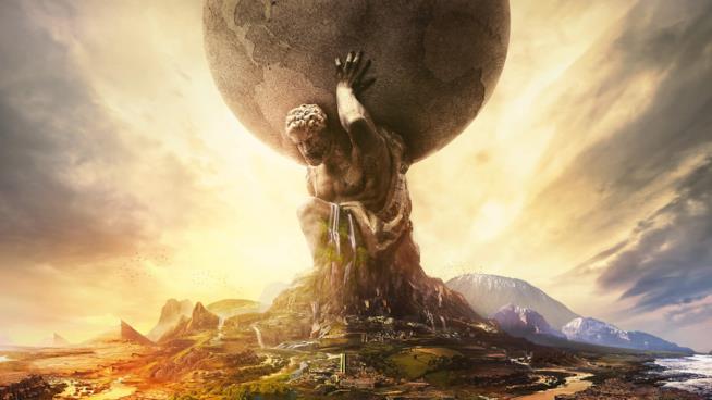 La cover ufficiale di Civilization VI