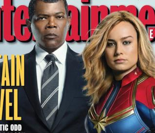 Poster finale di Captain Marvel