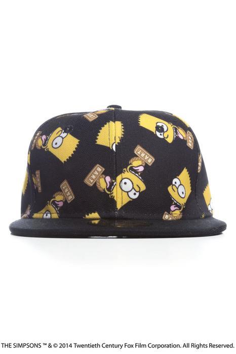 Il cappellino della collezione Joyrich dedicata ai Simpson