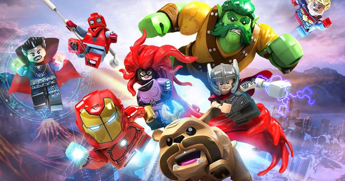 Gli Eroi Di Avengers Infinity War Invadono Lego Marvel Super Heroes 2