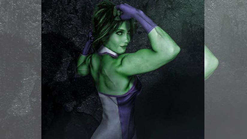 She-Hulk, protagonista dei fumetti Marvel