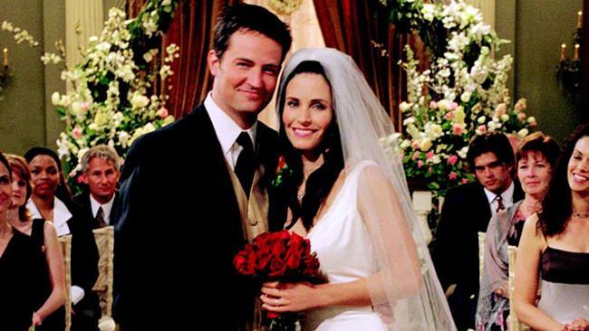 Friends, matrimonio di Chandler e Monica