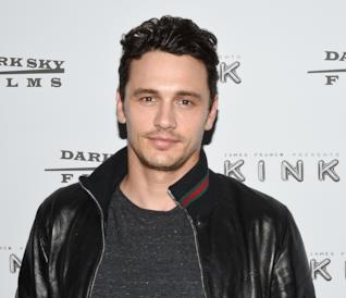 James Franco in uno scatto durante una premiere