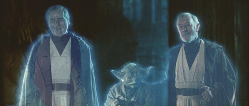 I fantasmi di Forza nel finale de Il ritorno dello Jedi