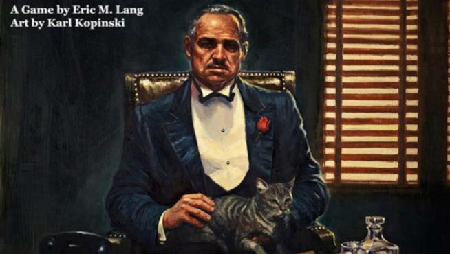 Karl Kopinski disegna la copertina de Il Padrino: L'Impero Dei Corleone