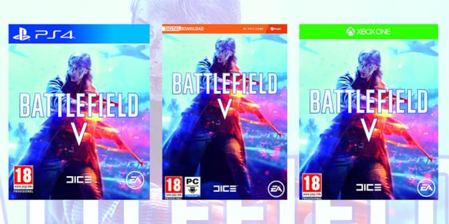 La copertina di Battlefield V
